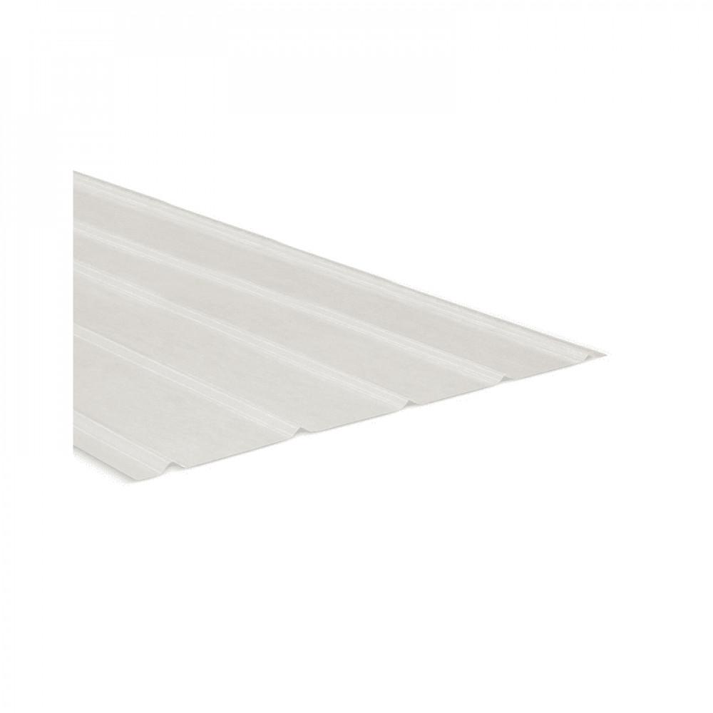 Plancha Fibra Vidrio 5v 2.50mt Natural