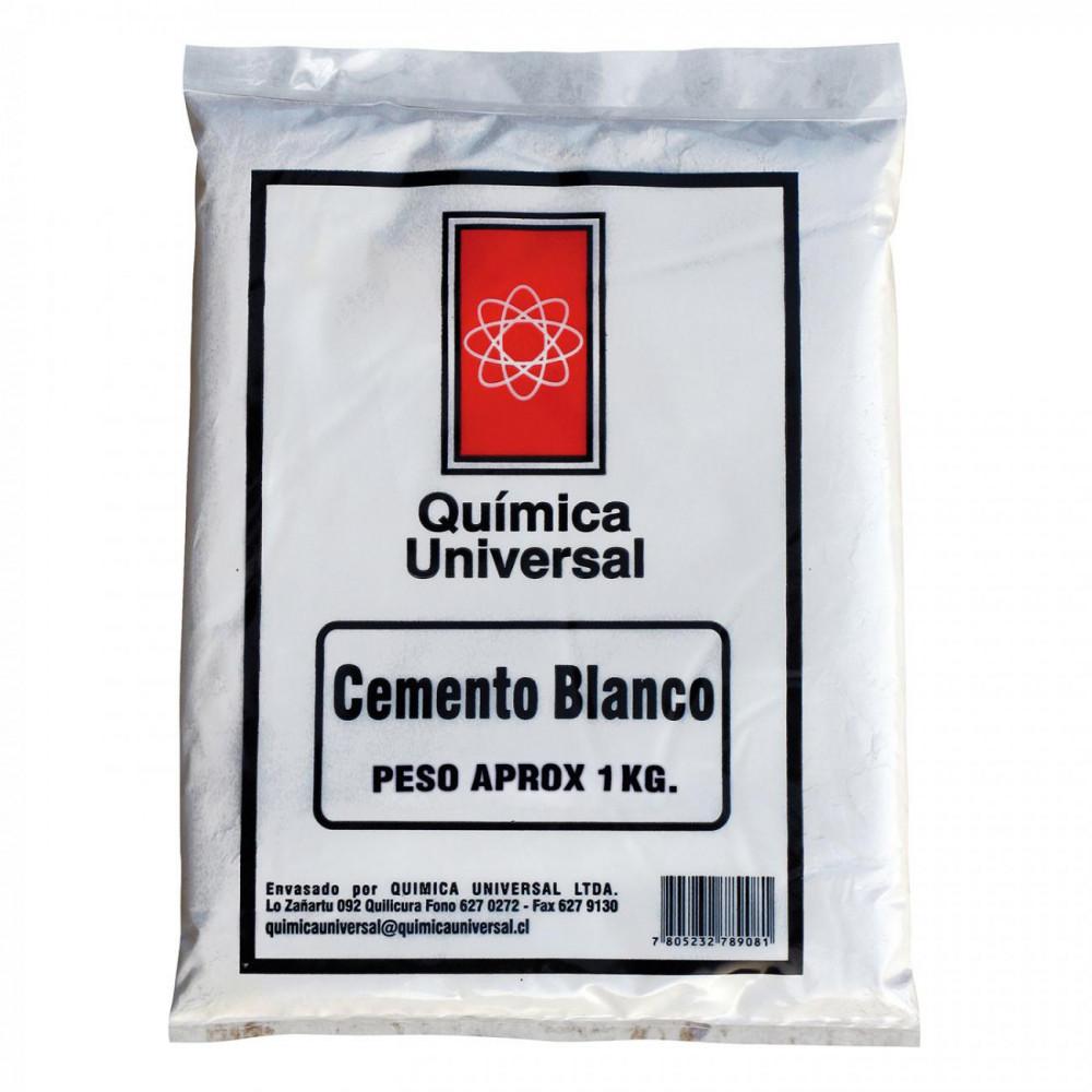 Cemento Blanco Bolsa 1kg