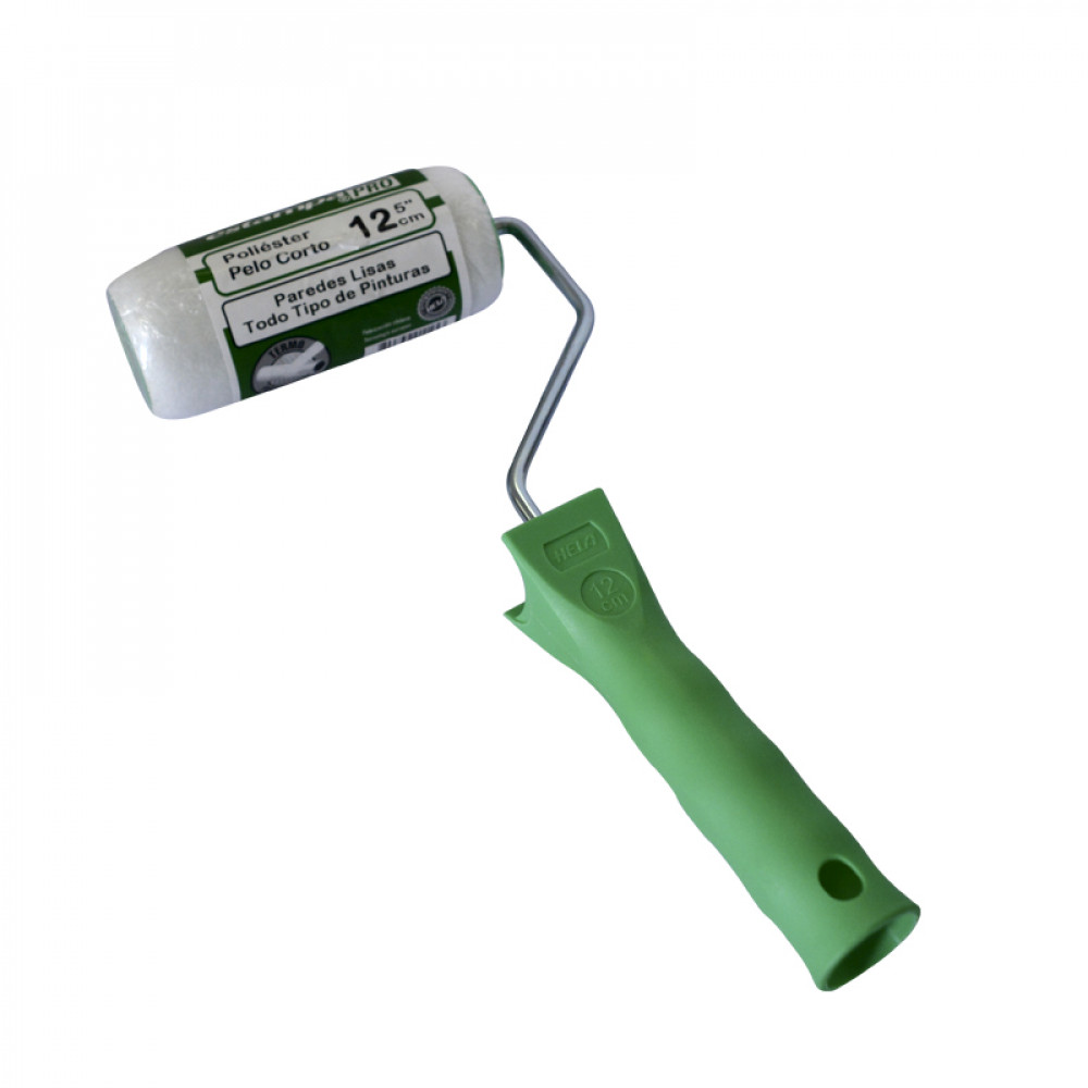 Rodillo Termofusionado Fibra 6mm 12cm Estampa Pro