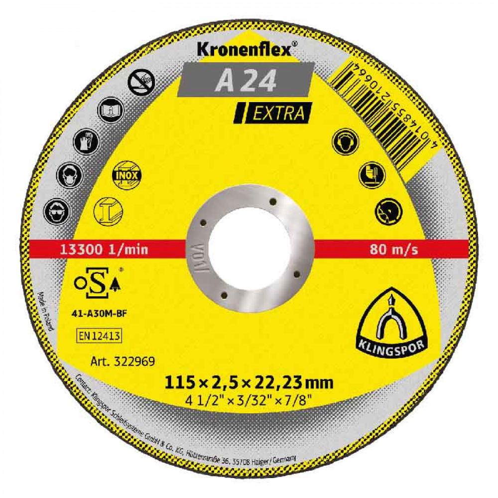 Disco Corte Cp Extra 115 X 2.5 X 22.23  Klingpor