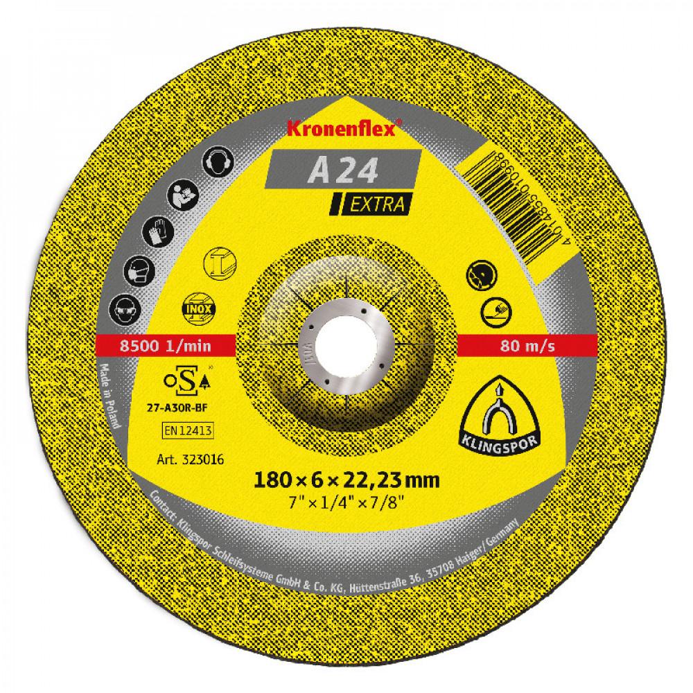 Disco  Desbaste Metal Ce A24extra 7 Klingpor