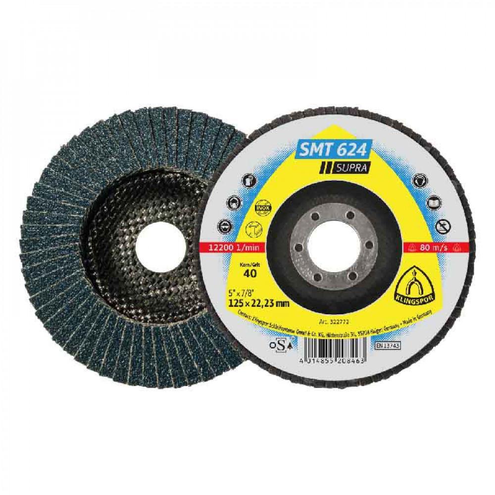 Disco  Laminas Inox Smt624 4 1/2x22.23 Gr 80 Kling