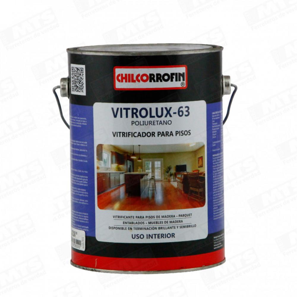 Barniz Vitrolux Natural 63 Vitrificado Galon