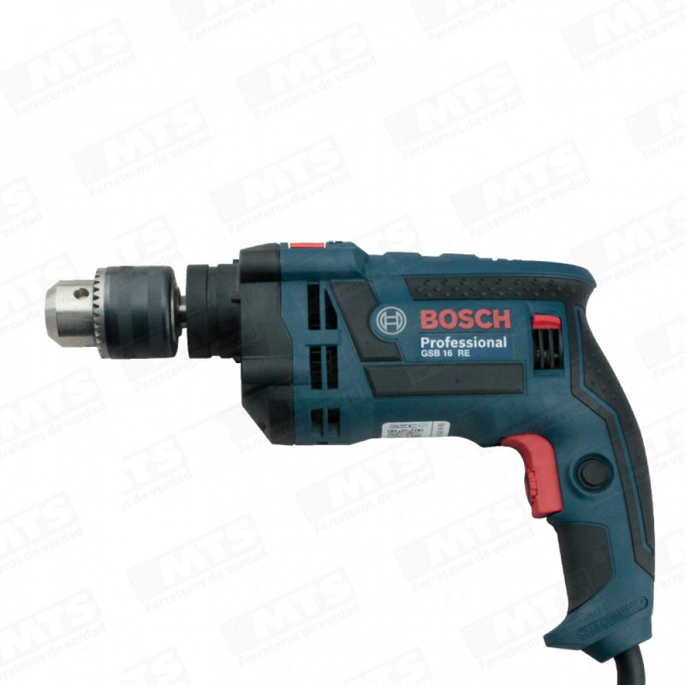 "Taladro Percusin 13 Mm  1/2"" 750 W (gsb 16 Re) Bosch"