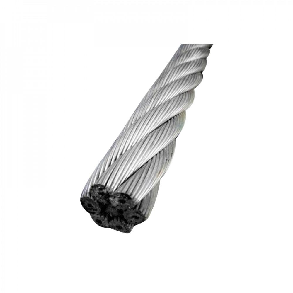 """Cable Acero 3/8"""" 6 Hilos X 19 Hebras"""