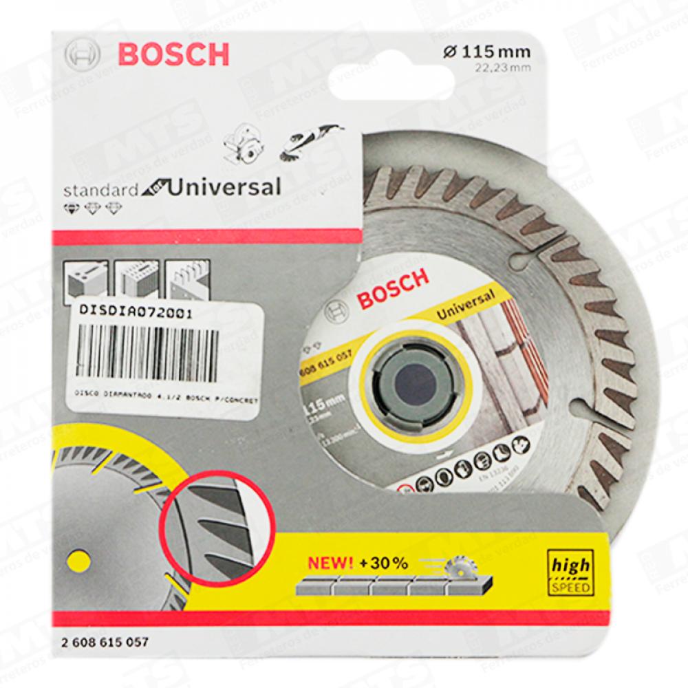 Disco Diamantado Segmentado 4.1/2 Bosch