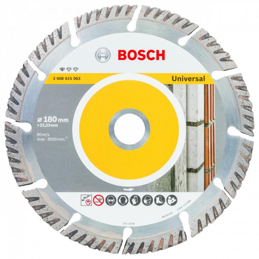Disco Diamantado Bosch 7 Segmentado  Bosch