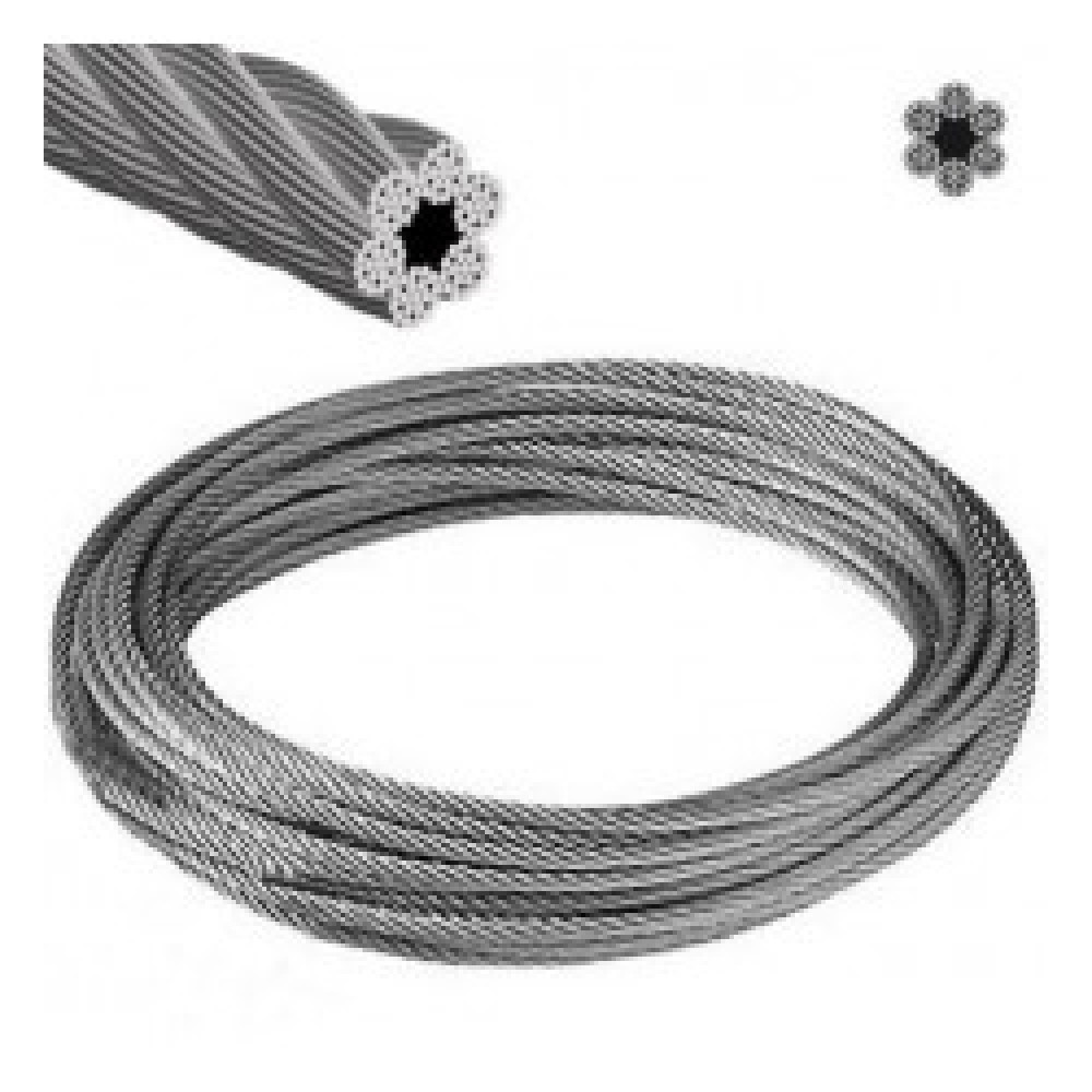 Cable Acero Forrado 4.0mm