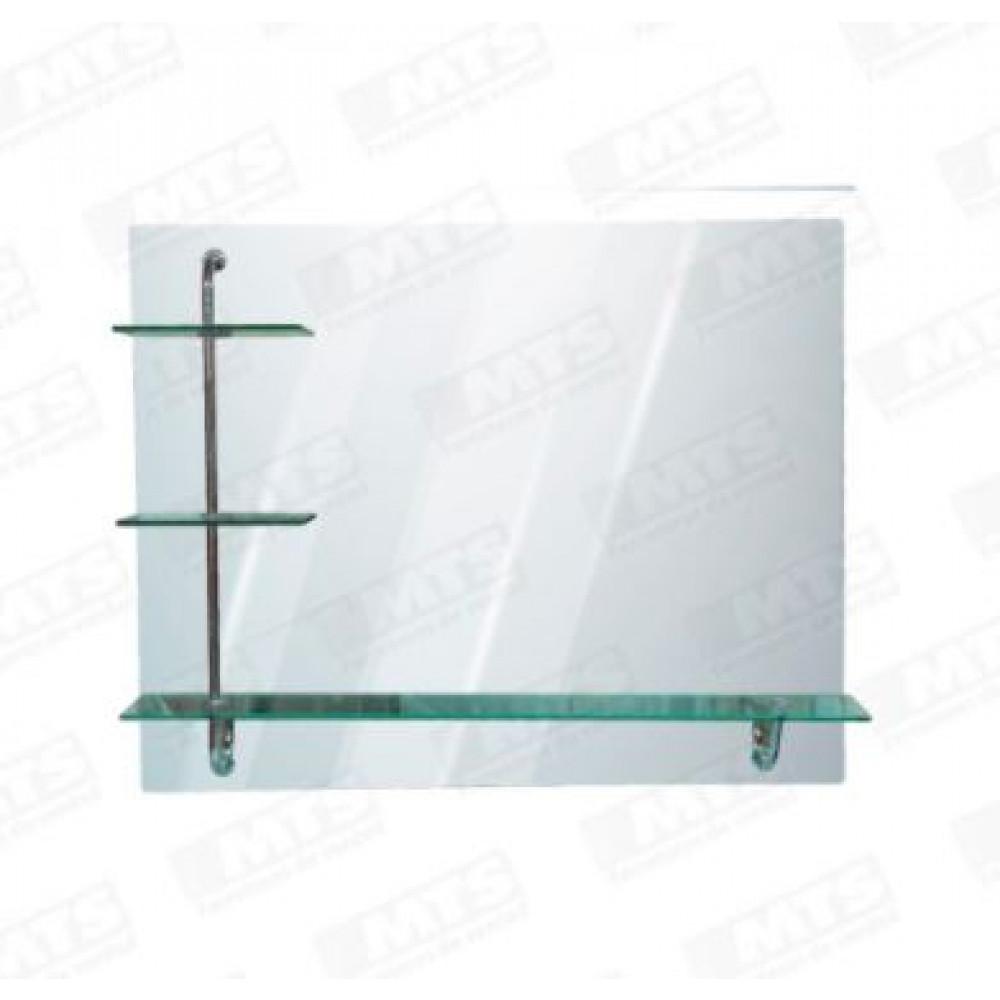 Espejo Rectangular 100*80 C/repisas