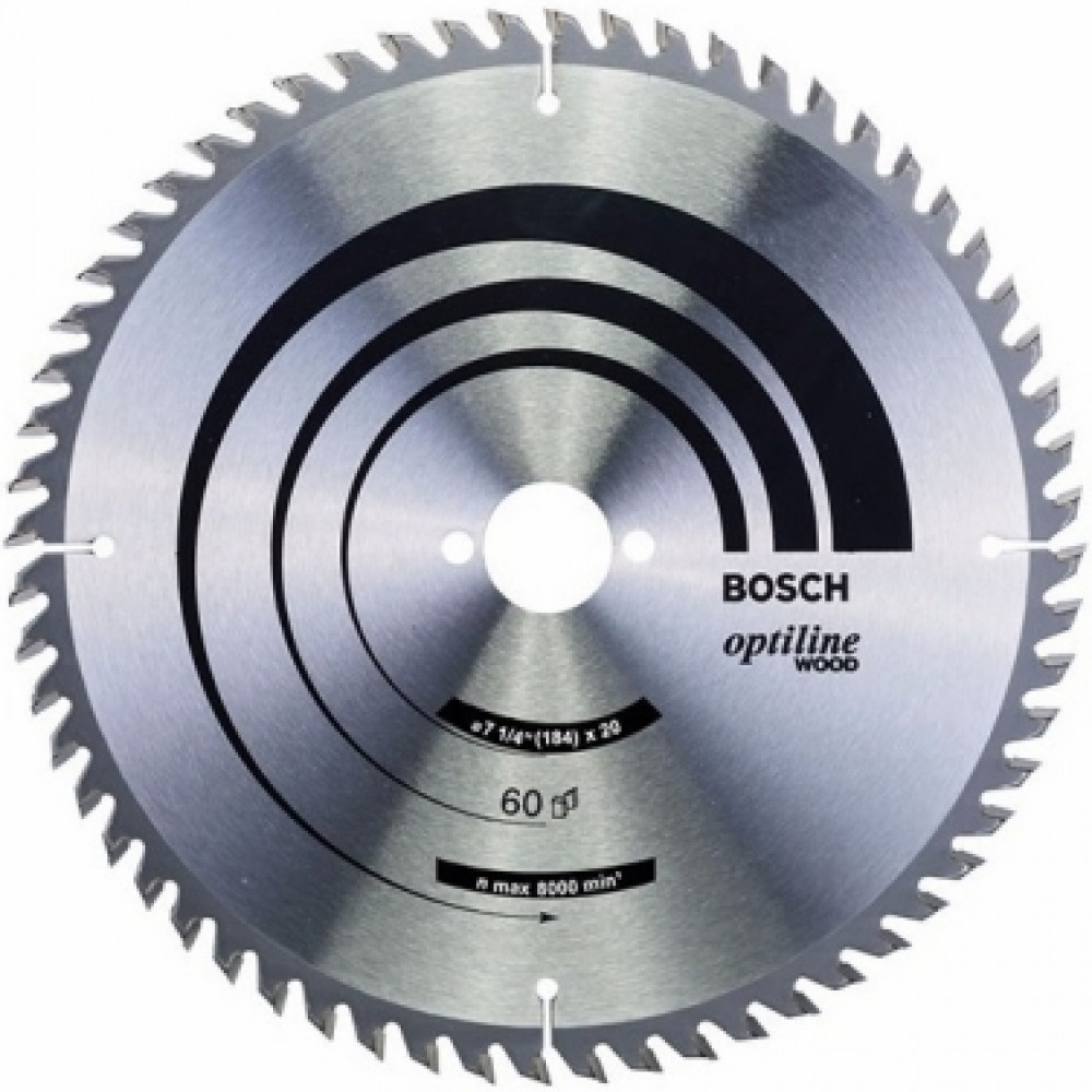 Disco De Sierra Circular 71/4 60t B2016 Op  Bosch