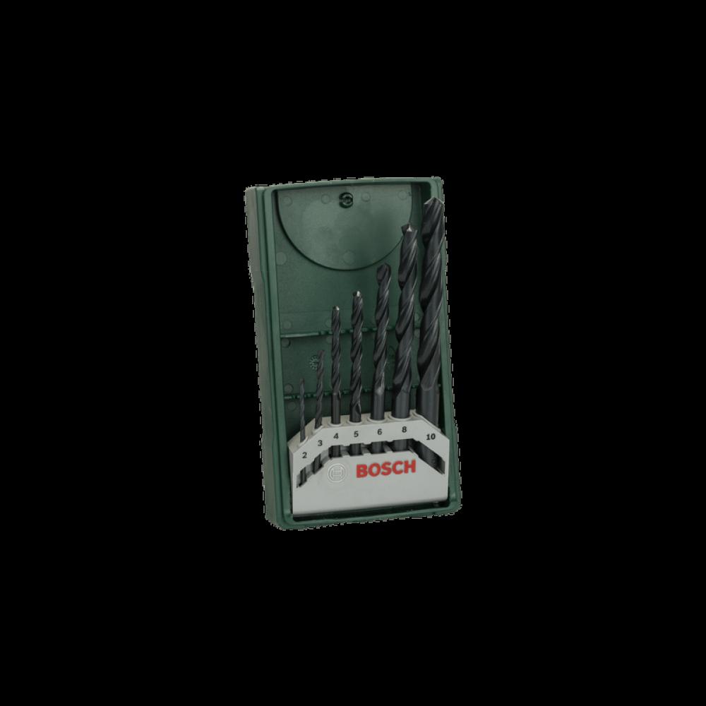 Set 7 Piezas Brocas Metal Mini Xline  Bosch