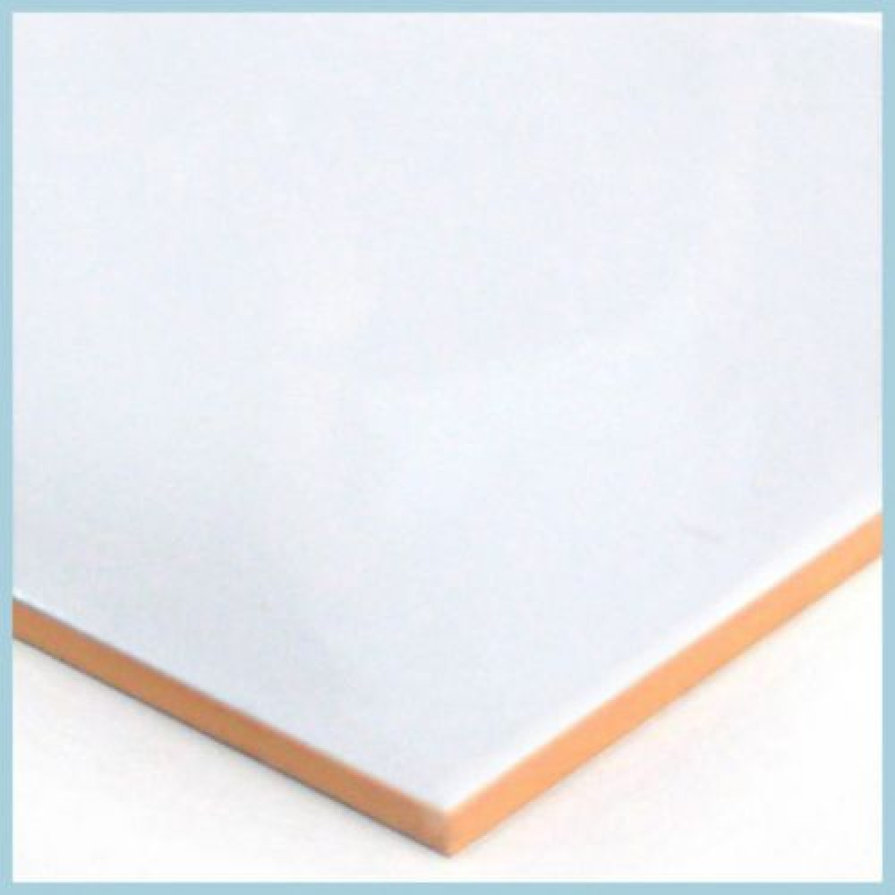 Ceramica Muro Blanca Liso 25 X 40 1,5 Importacion