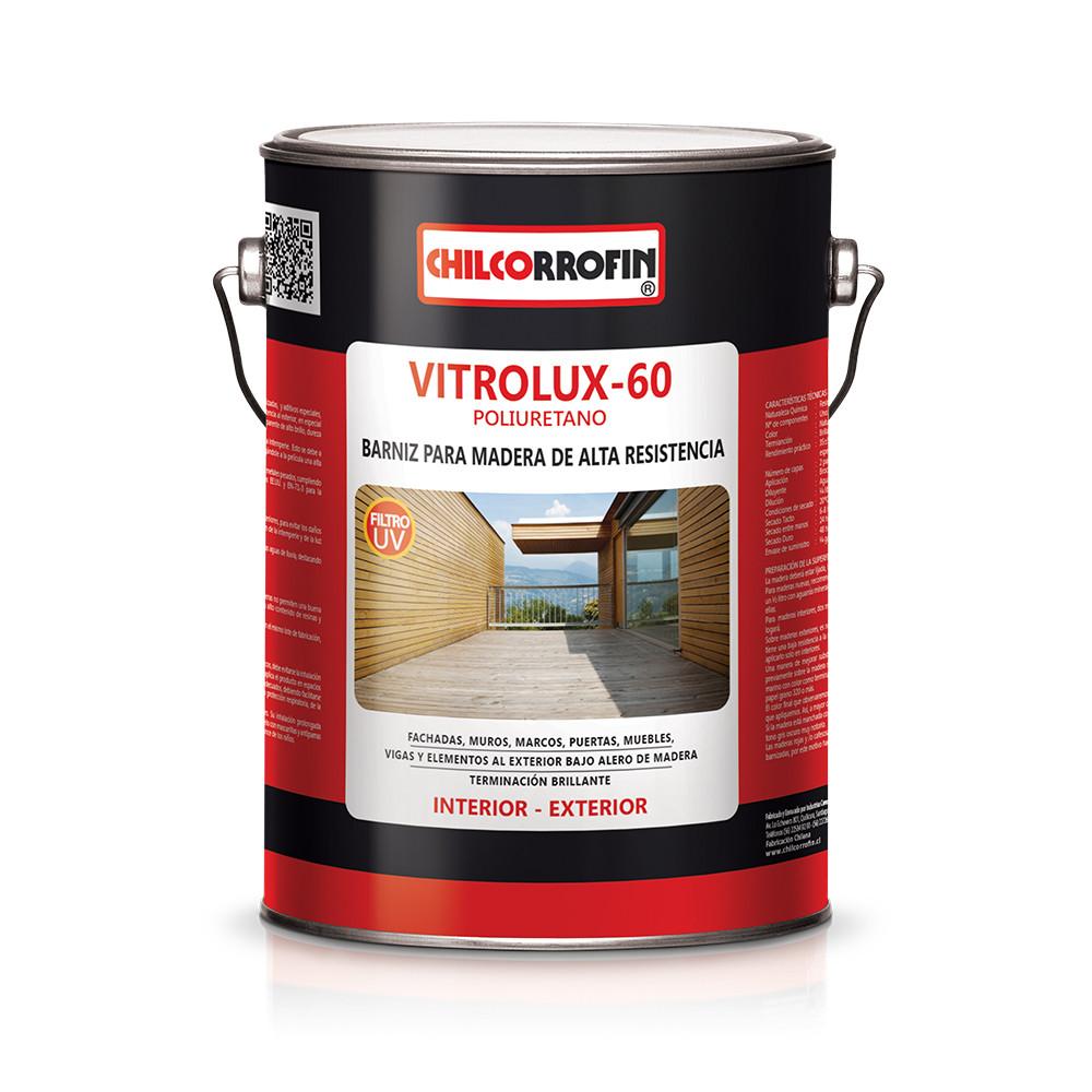 VITRIFICANTE MADERA VITROLUX 60 NATURAL GALON CHILCORROFIN