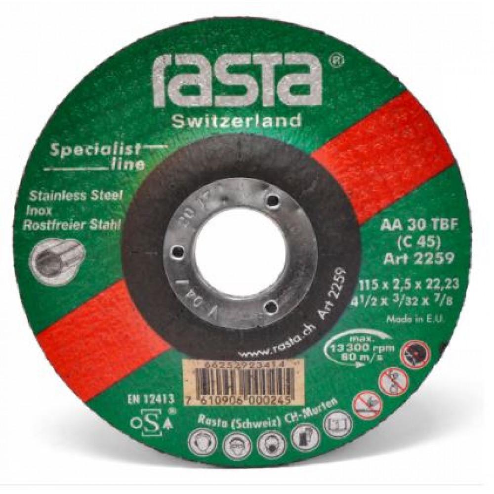 Disco Rasta Corte Acero Inox 7  2274