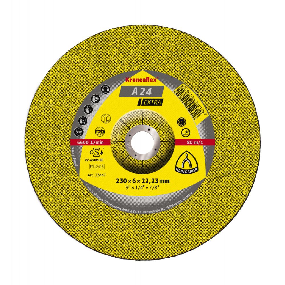 DISCO DE DESBASTE 230 X 6 MM METAL KLINGSPOR