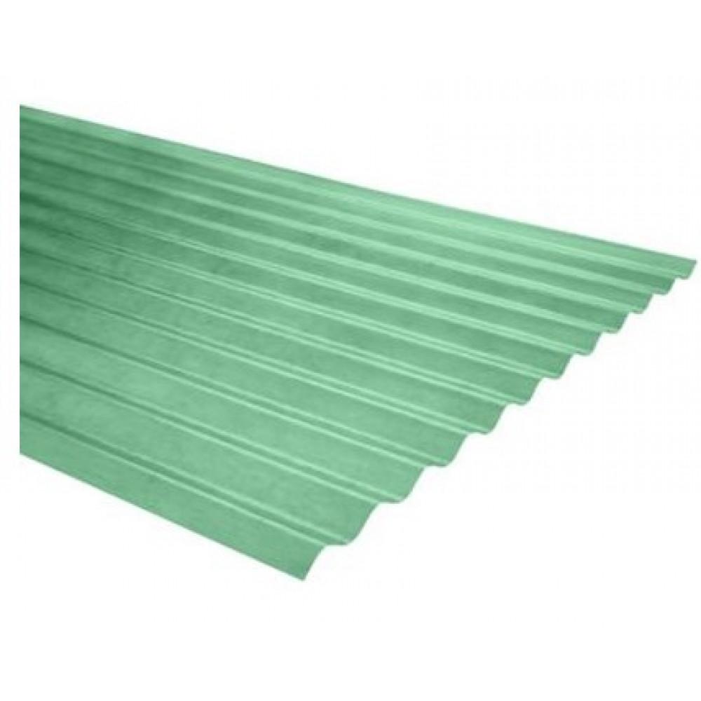Plancha Fibra Vidrio 5v 2.00mt Verde