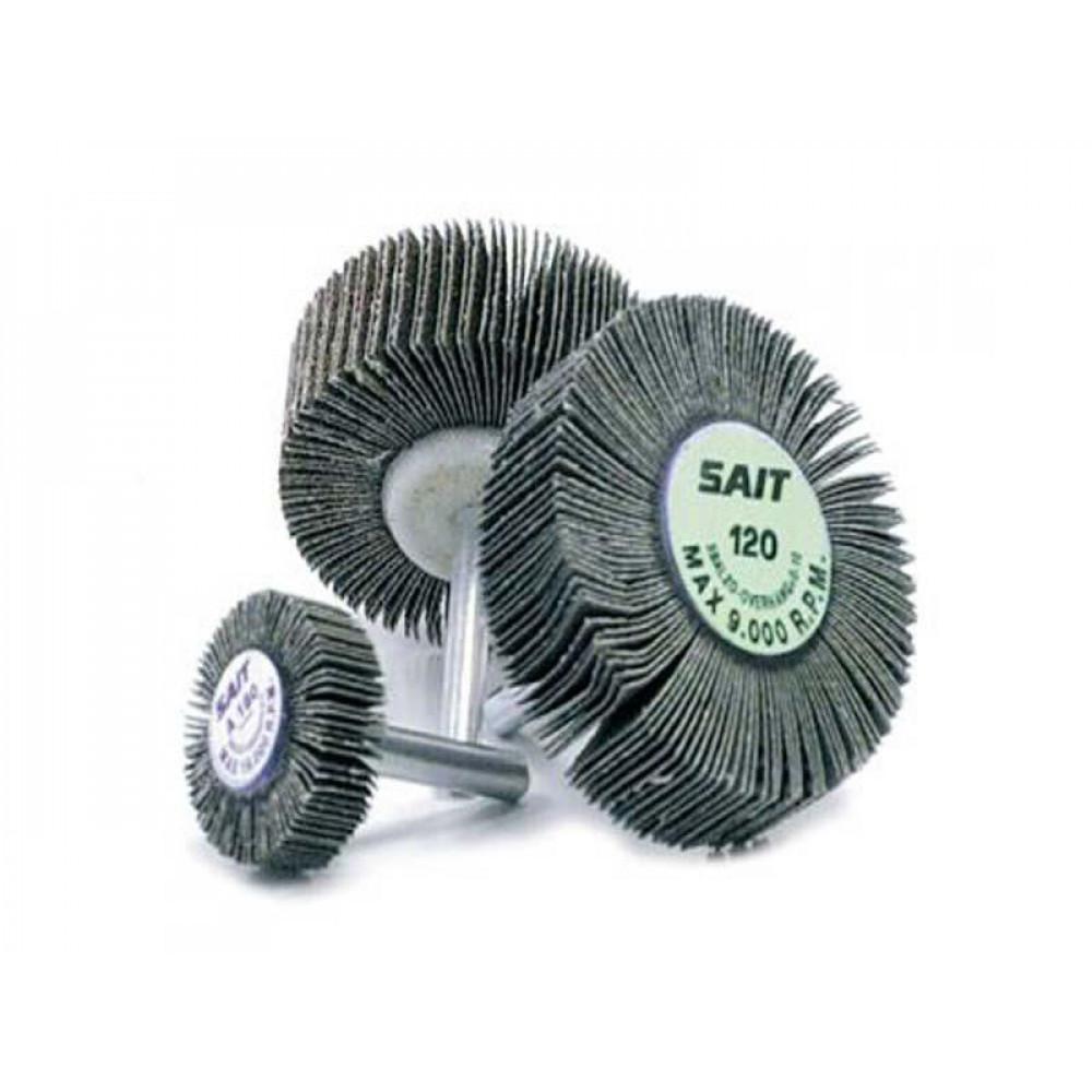 Rueda Traslapada Para Metal 40 X 15 Mm  N 80 Sait