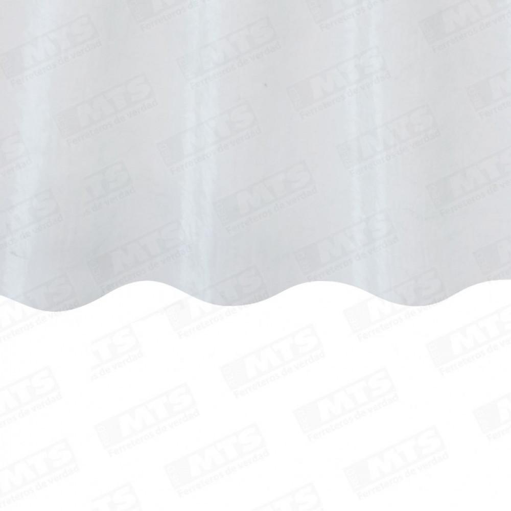 Plancha Fibra Vidrio Onda Zinc 2.50mt Natural