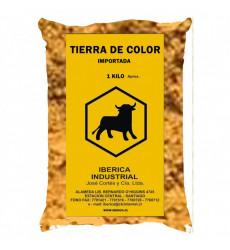 TIERRA DE COLOR BOLSA 1 KG AMARILLO