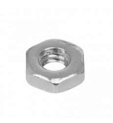 Tuerca Hexagonal Acero Zincada 1/4 Unidad