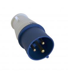 ENCHUFE INDUSTRIAL MACHO 32A 2P + T 220 V