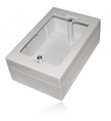 Caja Chuqui Plastica P/ Canaleta