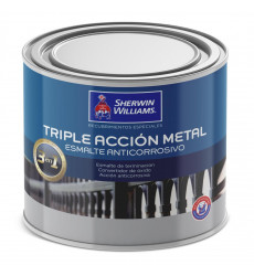 Anticorrosivo Triple Accion Metal Negro 1/4 Galon