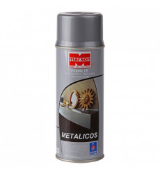 Pintura Metalica Paint Plata Marson 485 Ml