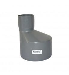 COPLA REDUCCION 110 X 50 MM FITTING PVC SANITARIO GRIS