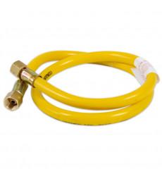 """MANGUERA GAS 1 MT CONECTOR 3/8\"""""""