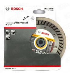 "Disco Diamantado Turbo  4 1/2""universal  Bosch"
