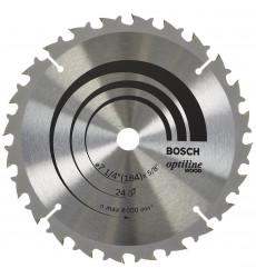 Disco De Sierra Circular 71/4 24t B 5/8 Opt  Bosch