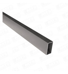 Perfil Tubular Rectangular 20 X 50 X 2 Mm X 6 Mt