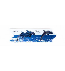 Listel Delfines 8x25 Set 4 Un.