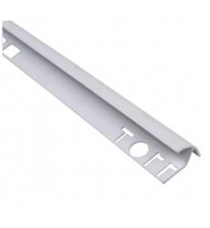 Esquinero Pvc Guardacanto 9mm 2.5mt Blanco