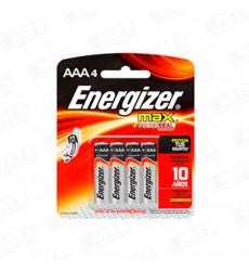 Pila Mini Energizer Aaa Blister X 4