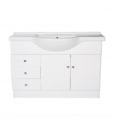 Mueble Vanitorio Bco 1250 X 505 X 850 Imp