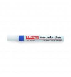 Marcador Metal  Paint Azul