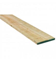 """Pino Dimensionado Verde 1 X 10"""" X 3.2 Mt"""