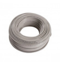 Cable Thhn Blanco 12 Awg Rollo 100 Mts