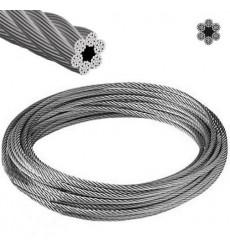"""Cable Acero 1/8 6 Hilos X 7 Hebras"""""""