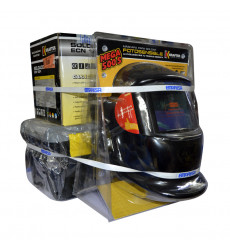 Kit Soldadora Ecn120 + Mascara Y Caja C/accesorios