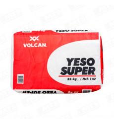 Yeso Saco 25 Kilos Super Volcan