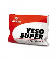 Yeso Saco 25 Kilos Blanco Express Volcan