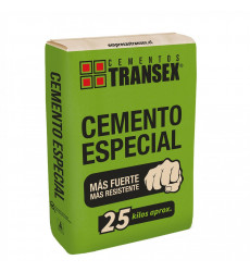 Cemento Transex 25 Kilos Saco (72)