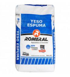 Yeso Saco 25 Kilos Espuma Romeral