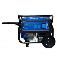Generador Hyundai Gasolina 5/5,5 Kw/kva P.electrica Monofasico Abierto C/ruedas