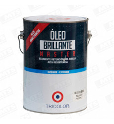 Oleo Brillante Master Blanco Galon