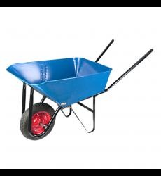 Carretilla Econ Compen 90l Azul C/rueda Importada