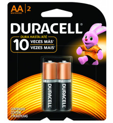 PILAS AA BLISTER 2 UNIDADES DURACELL